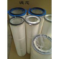 铝盖聚酯覆膜PTFE除尘滤芯