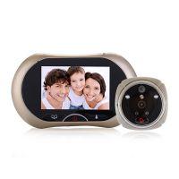 智能电子猫眼可视门铃移动侦测防盗门猫眼摄像头家用门镜可视门铃