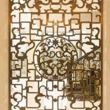 昆明五谷丰登铝艺铜艺楼梯护栏复杂工艺铜板铝板楼梯护栏