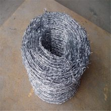 铁丝刺线 镀锌防盗刺 圈果园钢刺