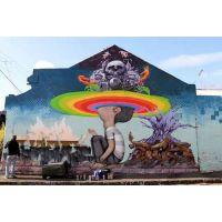 河南街头涂鸦艺术专业涂鸦墙素材