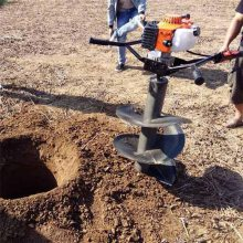 轻便小型手提挖坑机 便携式立柱打眼机 吉林种植机