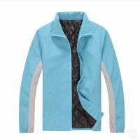 中山风衣订做厂家|复合双层拉链风衣定制|广告防水风衣订做