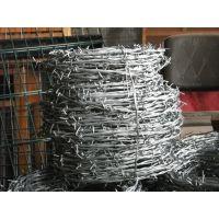 济南刺绳厂家供应热镀锌刺丝防盗带刺铁丝网隔离防护铁蒺藜