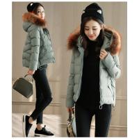 冬季女式加厚羽绒服 新款棉衣秋冬装尾货批发 韩版女装外套 时尚外套供应