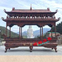 【禅相法器】厂家定制寺庙户外长方形二层大型香炉。