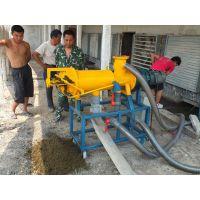 河北唐山125型猪粪螺旋挤压脱水机多少钱,养猪场粪污处理设备