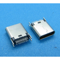 usb 3.1 type-c母座 24p直插夹板1.0(L=9.3mm)