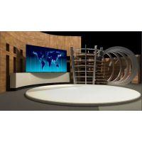 超清虚拟直播间搭建,天创华视新闻会议访谈虚拟演播室建设
