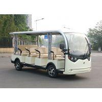 成都十一座电动观光车价格 电动旅游观光车 楼盘接待车NL-S11