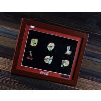 纪念币/收藏品专用 加厚实木立体画框批发 徽章用礼品相框 加工定制