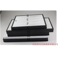 HEPA滤网/纸框或铝框海帕高效过滤网/空气净化器配套滤网