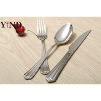 高档304不锈钢欧式牛排刀叉 西餐餐具刀叉勺套装