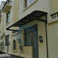 名豪铝合金窗棚雨棚阳台遮阳棚露台雨篷别墅花园庭院大门口耐力板雨棚
