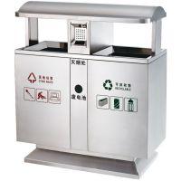 陕西西安四分类环保垃圾桶 三分类果皮箱生产加工制作销售厂家 西安志诚塑木