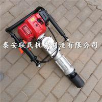 联民供应 便携式汽油打桩机 公路护栏木桩打桩机 自产自销