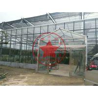无土栽培观光农业玻璃温室大棚造价多少钱?青州瀚洋农业科技