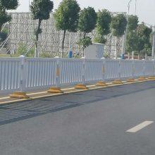 佛山市政防护栏带底座 人行道隔离栅乙型 清远面包管护栏现货供应