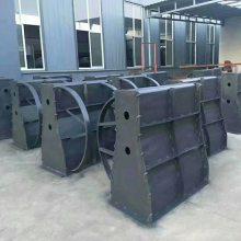水泥隔离墩钢模具厂家定做价格