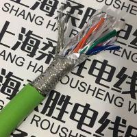 厂家直销/伺服编码器专用电缆 柔性耐油TRVVSP/RVVYP伺服电缆 8芯