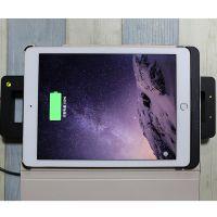 广州ipad pro皮套带支架无线充电仿皮纯色创意平板保护壳OEM厂家定做