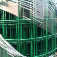 包塑荷兰网 小区围栏网 养殖铁丝网价格