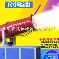 泰安联民 工地除尘环保除尘器 30米全自动汽油雾炮