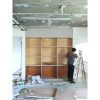 居众装饰公装部|装修工地材料现场|高隔墙、腻子、石膏板等装修材料