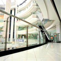 金裕 厂家热销 不锈钢商场玻璃防护栏 商场酒店楼梯栏杆