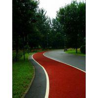 休闲场所健身步道塑胶跑道设计施工厂家