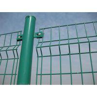 供应包塑铁线车间隔离双边丝护栏网 高速公路双边丝护栏网