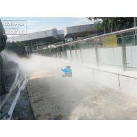 重庆水景人造雾创意设计,【行业领先雾森公司推荐】,锦胜科技景观造雾系统