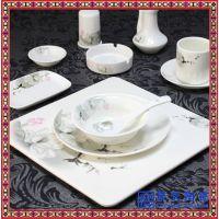 工艺陶瓷餐具彩瓷陶瓷餐具 手绘陶瓷餐具 新款陶瓷餐具