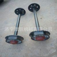 加工矿车轮对矿车轮子矿车配件煤矿用轮对定做各种窑车轮对