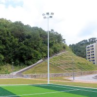 清远市大小杆足球场灯杆 10米广场灯杆价格 体育场锥形灯柱厚度
