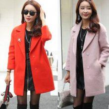 便宜呢子外套批发厂家货源 几元毛呢大衣风衣 韩版双面呢 羊绒大衣