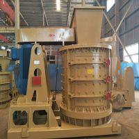 常年供应数控立式鹅卵石制砂机设备 破碎比大 铁矿石制砂机郑州生产厂家