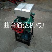 最新推销 多功能花生米破碎机 农家专用粮食挤扁机 通达 高粱扎碎机
