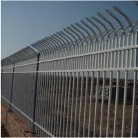 生产销售锌钢护栏围墙围栏厂区公司高档小区别墅用围墙防护护栏