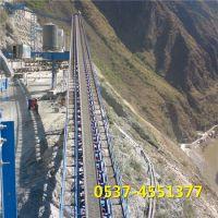 兴亚固定式皮带机 矿料输送设备 大型运输传送机