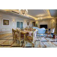 南岸蓝光帕提欧洋房装修方案|法式风格设计实景图鉴赏