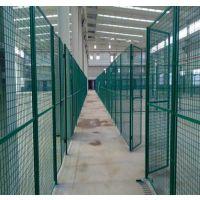 游乐场防护护栏网 游乐场小孔护栏网 绿色安全防护网现货