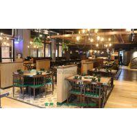 热销餐厅家具茶餐厅大理石餐桌 可来图定做批发 简约现代