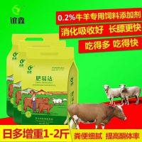 牛羊催肥用什么药 牛羊催肥增重王 肉牛饲料添加剂 谊鑫肥易达