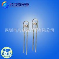 led红外发光管 850nm 5mm角度45度 功率0.3W 100mA 直插式led红外灯珠