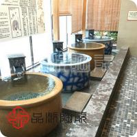找景德镇可以定做1.1直径米浴场泡澡大缸 日式1.2米极乐汤陶瓷洗浴大缸