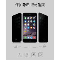 中性品牌 深圳厂家直销苹果防窥钢化玻璃屏 高清iPhone贴膜