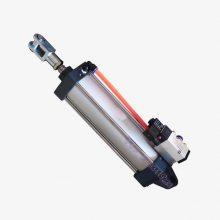 郑州JS系列双卧轴混凝土搅拌机卸料门专用气缸 搅拌机气动卸料气动元件