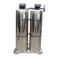 晨兴直供 不锈钢全自动软化水设备 除水垢家庭用小型软水机