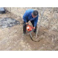 挖带土球树木挖树机 起树方便用手提链条挖树机 润众